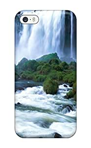 Iphone 5/5s Case Cover Iguazu Waterfalls Case - Eco-friendly Packaging