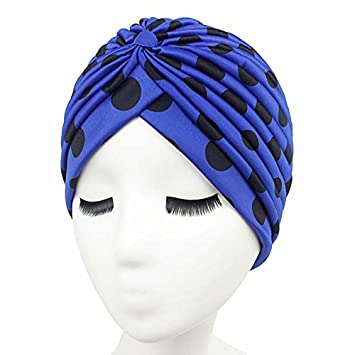 da5323ee152 Image Unavailable. Image not available for. Color  Women s Fashion Rasta  Turban Indian Style Head Wrap Cap Hat Hair Cover Headband Various Print  Design