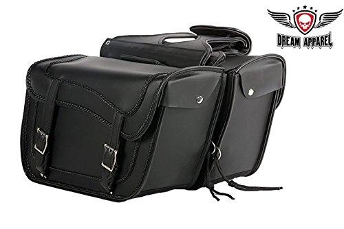 - Motorcycle Braided Saddlebags - Waterproof Motorcycle Luggage SD1481 - 16