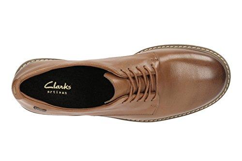 Clarks Freizeit Damen Glick Darby Gore-Tex® Leder Halbschuhe In Braun