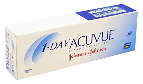 Acuvue 1-Day Visitint Tageslinsen weich, 30 Stück / BC 9 mm / DIA 14.2 / 0.75 Dioptrien