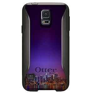 CUSTOM Black OtterBox Commuter Series Case for Samsung Galaxy S5 - New York Skyline Night
