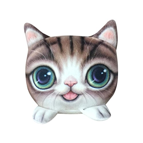 Cute Funny Cat Doll Bamboo Activated Charcoal Odor Absorber Bag, Eliminator, Air Purifier and Freshener for Car Home Decoration