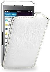 StilGut, UltraSlim, pochette exclusive pour le Blackberry Z10, en blanc