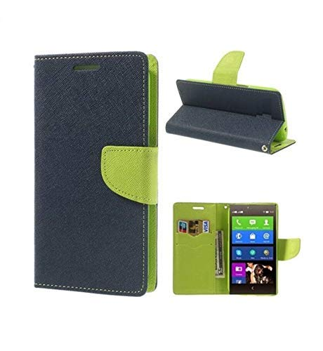 covernew Flip Cover for sony xperia z1   royal blue lishenFlip Coverxperiaz1royalblue