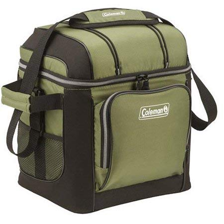 (Coleman 30-Can Soft Cooler with Removable Liner, Green)