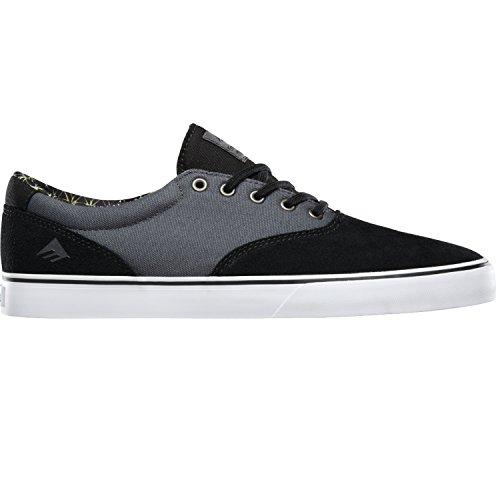 Emerica Provost–Slim Vulc Negro/Gris/Blanco Zapato