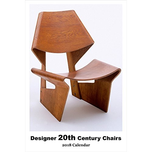 Retrospect Group Designer 20th Center Chairs-2018 Calendar [並行輸入品]   B079KLB1V2