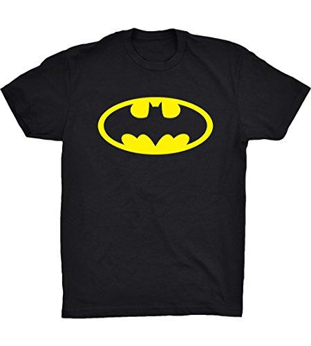 Batman+Shirts Products : Cleefs Shirts Men's Batman Classic YELLOW Logo Adult T-Shirtt S-4XL