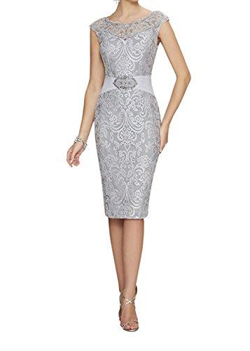 Neggcy Womens Elegant Short Formal Party Dresses Chiffon Lace