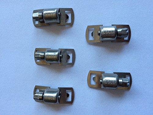 Schlauchschelle Endlos Bandschll/össer f/ür Bandbreite 8 mm aus Edelstahl V2A 304