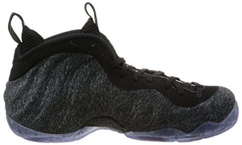 Nike Air Foamposite Pro Mens Pallacanestro-scarpe 624041 Grigio Scuro Heather / Nero