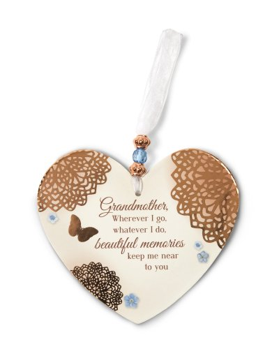 Pavilion Gift Company 19038 Light Your Way Memorial Memories of Grandmother Plaque, 4-Inch