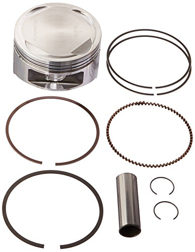 (Wiseco 4606M08700 87.00mm 10:1 Compression 416cc Motorcycle Piston Kit)