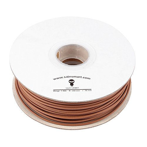 SainSmart Wood DarkBrown 1KG3 Printers Filament Brown