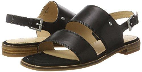 Schwarz black O'polo 70313861102100 Sandalias Sandal Marc Mujer zX1HUw