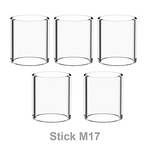 (Winnema M17 20.2mm Tall 5 Tubes 17mm OD Bulb Glass Tubing Clear (Normal))