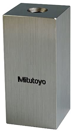 Mitutoyo Steel Square Gage Block, ASME Grade AS-2, Inch