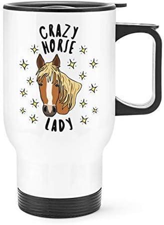 Crazy Horse Travel Mug