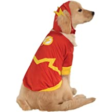 Rubies Costume Co DC Heroes and Villains Collection Pet Costume, Large, Flash