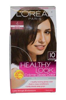 Rechercher sain Crème Gloss couleur, brun foncé par LOreal pour les femmes - une demande Couleur des cheveux