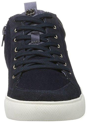 Ebay barato en línea Damen Wrangler Hiedra Ponche Zapatillas De Deporte Blau Mitad (azul Marino) Barato con Paypal Kcn3J