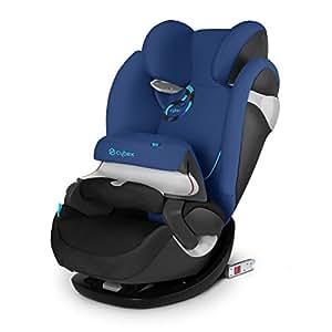Cybex Pallas M-Fix - Silla de coche, grupo 1/2/3 (9-36 kg, 9 meses-12 años), con Isofix, color azul [Colección 2015]