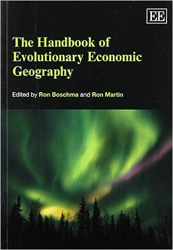 The Handbook of Evolutionary Economic Geography Elgar ...