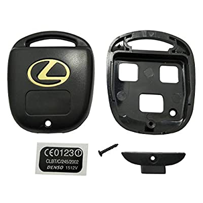 Horande Replacement Key Fob Case Shell fits for Lexus ES GS GX IS LS LX RX SC GX470 LX470 IS300 RX300 Keyless Entry Key Fob Cover Housing (Pack 2): Automotive