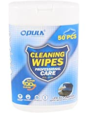 DealMux Laptop Monitor LCD TV Screen Dust Removal Cleaning Wet Wipes 50pcs White