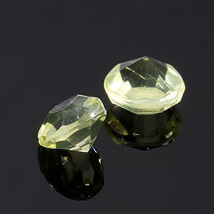 per centrotavola Addio al Nubilato Matrimonio Strass di Nozze Tavolo Confetti Strass Black Opzionale STRUGGGE 2000 Pezzi 4,5 mm Diamanti di Cristallo Acrilico