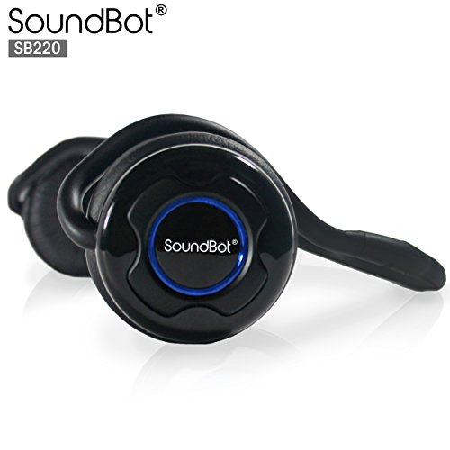 SoundBot SB220 Bluetooth Headset Wireless Stereo Headphone f