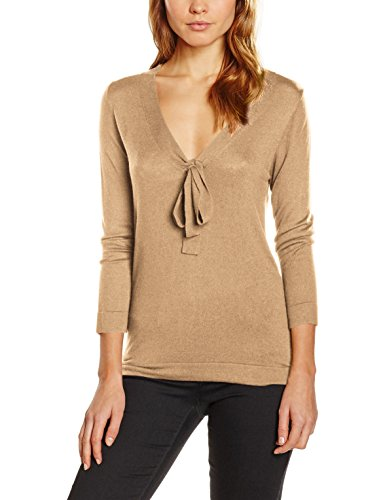 United Colors of Benetton, Suéter para Mujer Beige