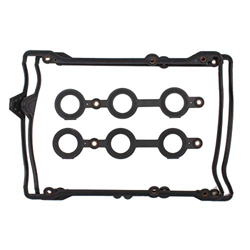 NewYall Pack of 2 Engine Valve Cover Gasket Set w/Spark Plug Tube Seals