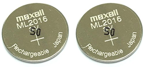 Maxell ML2016 Battery - Original Rechargeable