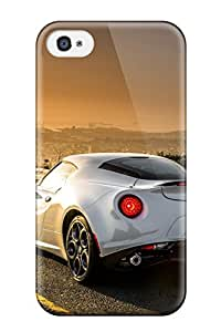 Premium Alfa Romeo 4c Heavy-duty Protection Case For Iphone 4/4s