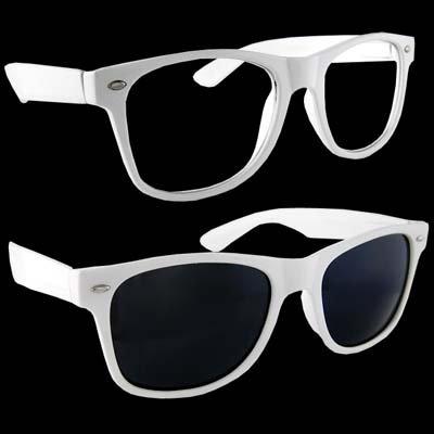 c68ffc4293d Lot of 2 Nerd Glasses Buddy Holly Wayfarer Black and White Frame Clear Dark  Lenses - Buy Online in Oman.