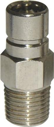 SeaSense Suzuki/Honda Fuel Connector 1/4-Inch NPT Male Chrome-Plated Brass