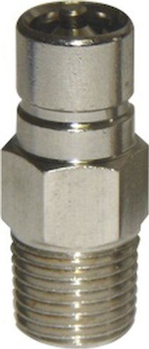 Suzuki Fuel Connector - SeaSense Suzuki/Honda Fuel Connector 1/4-Inch NPT Male Chrome-Plated Brass