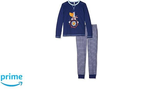 United Colors of Benetton Pyjama Set Longsleeve, Pantalones de Pijama para Niños: Amazon.es: Ropa y accesorios