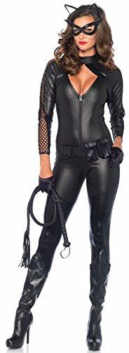 Joker Halloween Costume Ideas (Leg Avenue Women's Wicked Kitty, black,)