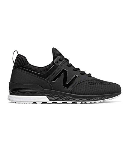 New Balance Uomo Nero 574 Sport Sneaker Black