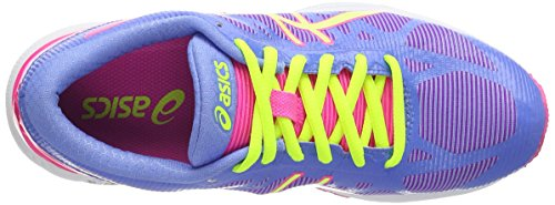 Gel P Asics DS Yellow 4707 Trainer para 20 Deporte Flash de Powder Mujer Hot Blue Azul Zapatillas 1wdZwq