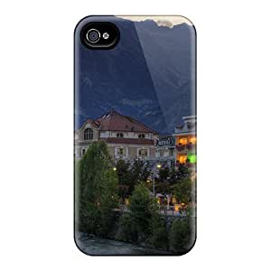Awesome Meranoitalia Flip Case With Fashion Design For Iphone 4/4s