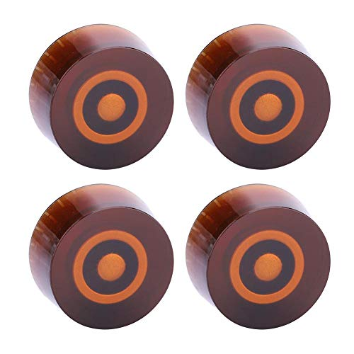 - Vbestlife. 4 PCS Plastic Volume Tone Control Dome Knobs Guitar Bass Parts, Volume Tone Control Knob for EPI LP Electric Guitar (Coffee+Gold)