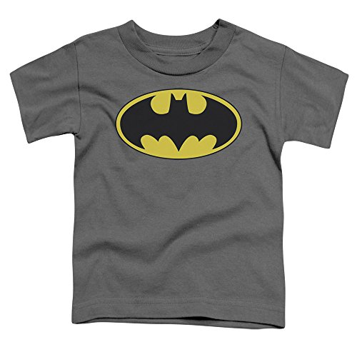 Price comparison product image Batman DC Comics Classic Bat Logo Toddler T-Shirt Tee