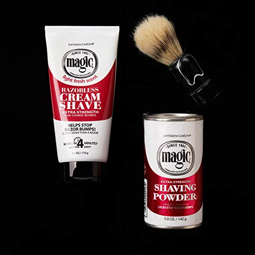 Razorless Shaving Cream For Men By Softsheen Carson Magic Import It All