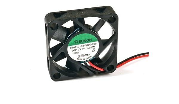 Sunon ventilador 40 mm x 10 mm DC Brushless 12 V DC Fan EB40101S2 ...