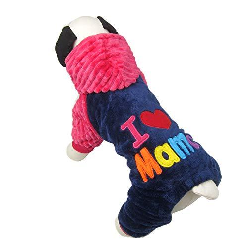 Alfie Pet - Mirin Hoodie Mommy - Color: Pink, Size: XXS