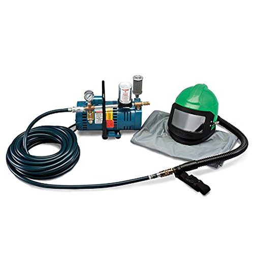 Allegro Industries 9285‐01 1-Worker Low Pressure Nova 2000 Helmet System, 50' Hose, Standard by Allegro Industries